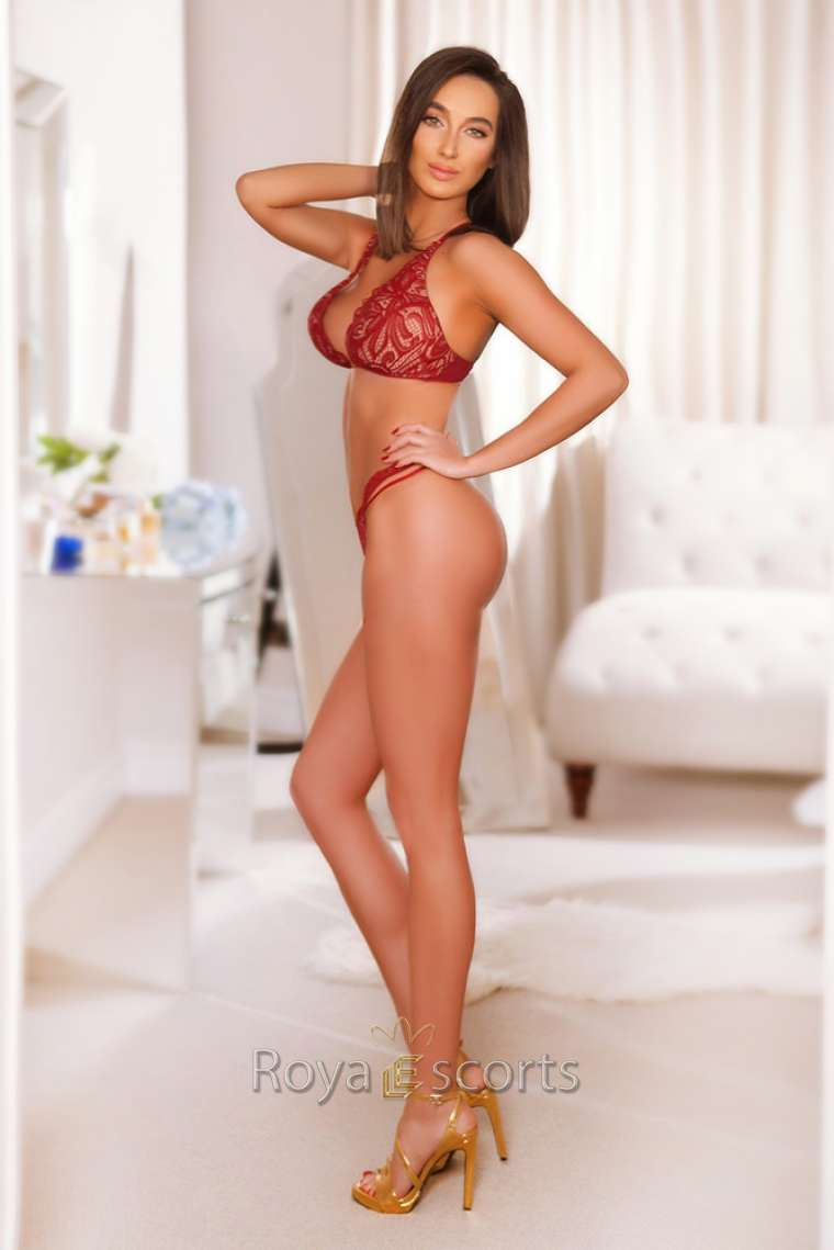 Tall Brunette Central London Escort Ivana