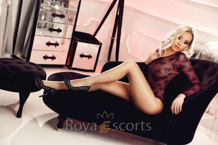 Blonde Young Escort - Vicky